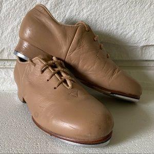 BLOCH Tan Tap-Flex Leather Tap Shoes